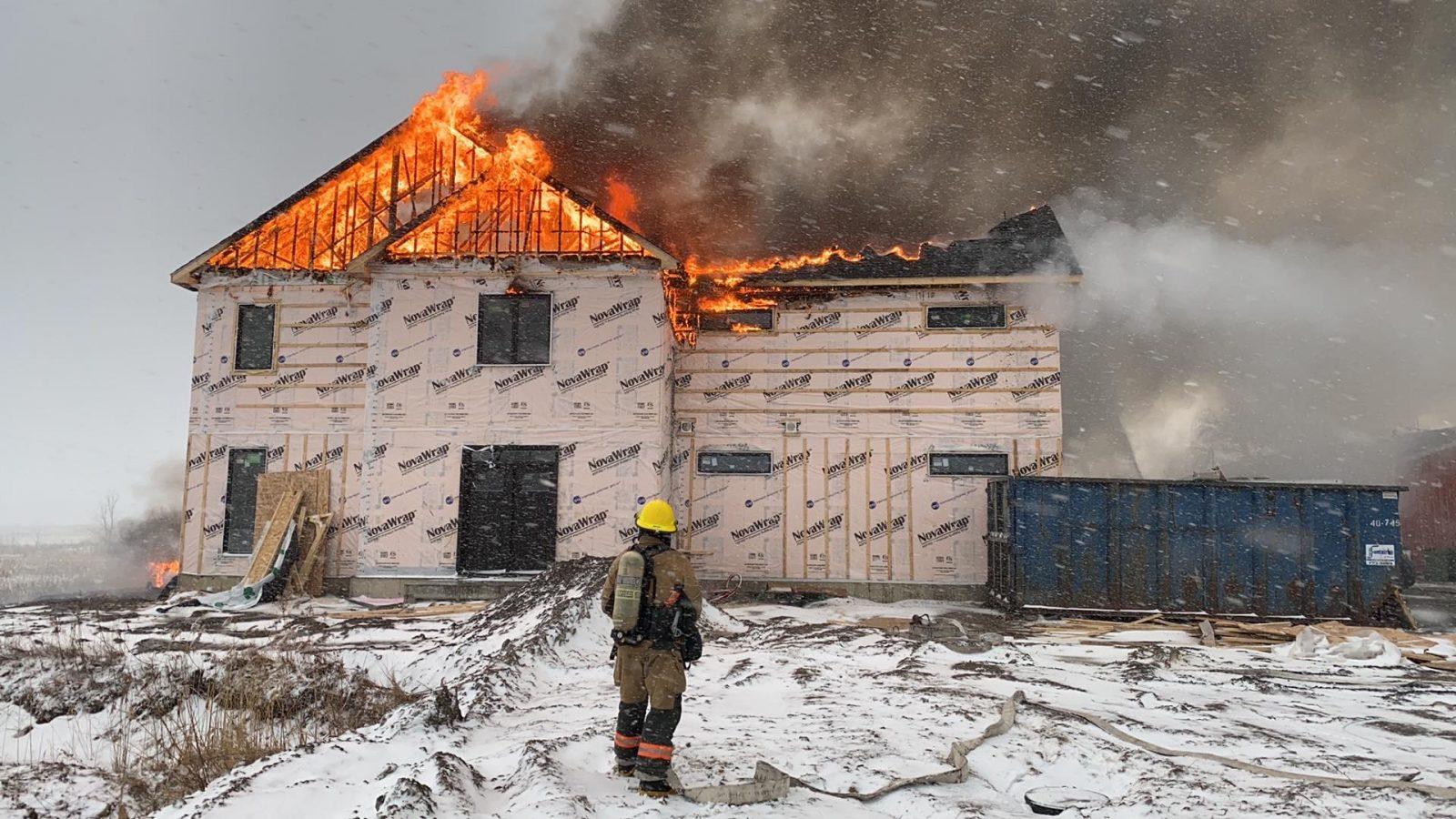 Un incendie éclate à Saint-Majorique