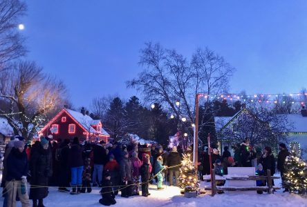 Une lumineuse cérémonie au Village québécois d'antan