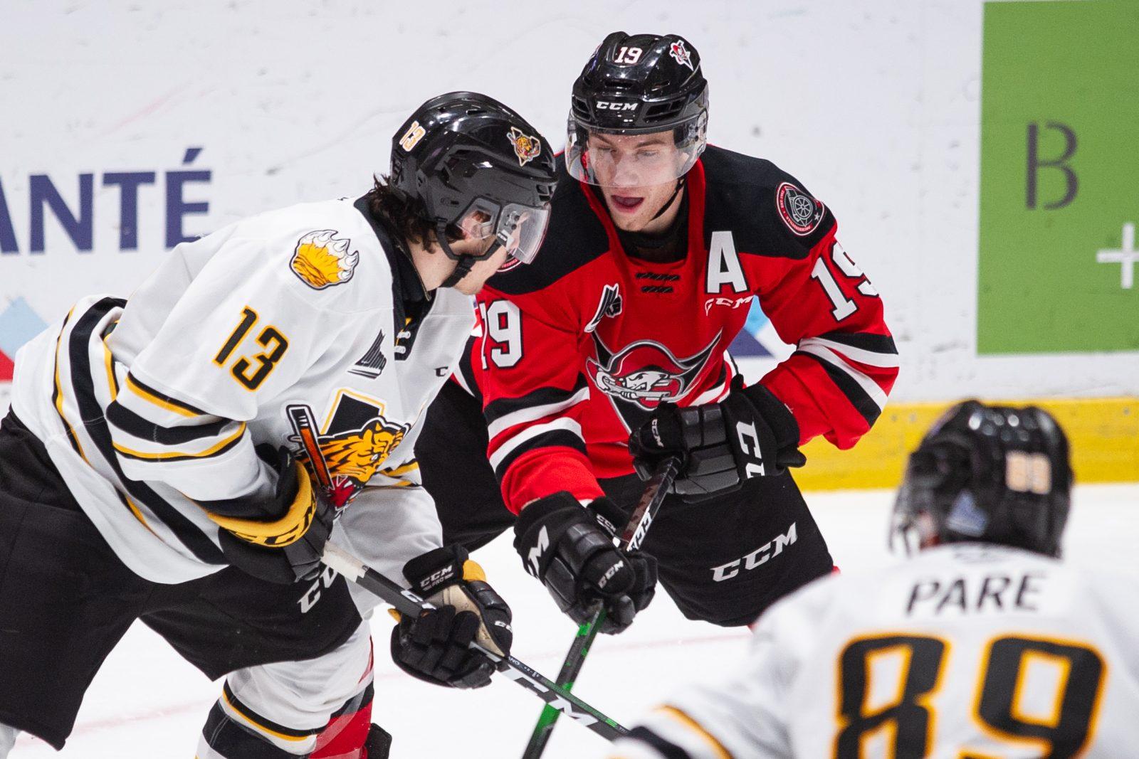Dawson Mercer invité par Hockey Canada