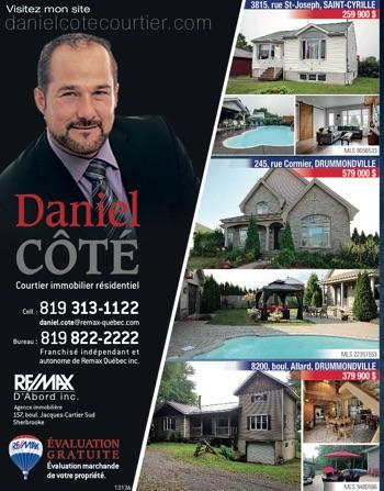 Daniel Côté, courtier immobilier