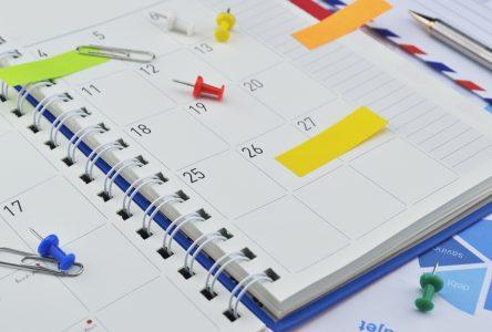 Agenda communautaire (15 au 22 janvier)
