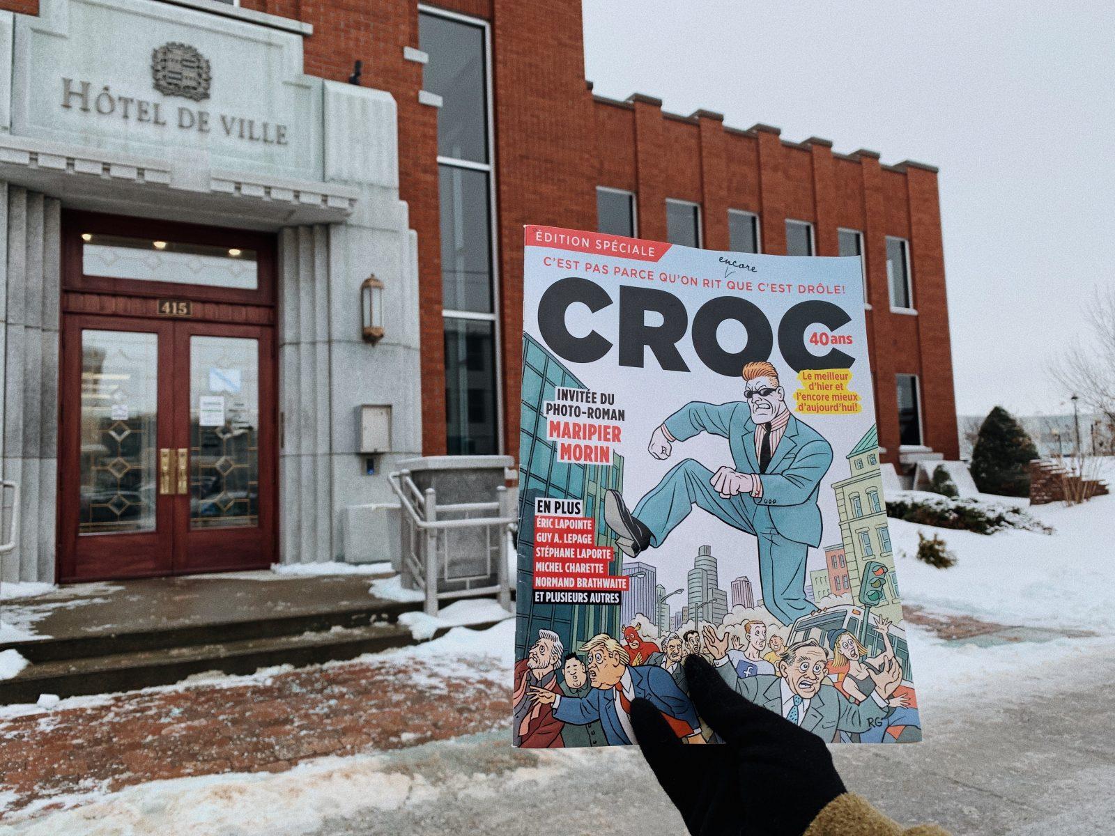 Drummondville, souffre-douleur de Croc