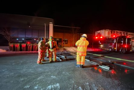 Les pompiers à pied d'oeuvre au CFER des Chênes (vidéo et mise à jour)