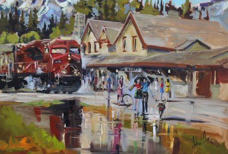 Six œuvres de Robert Roy en exposition à Drummondville