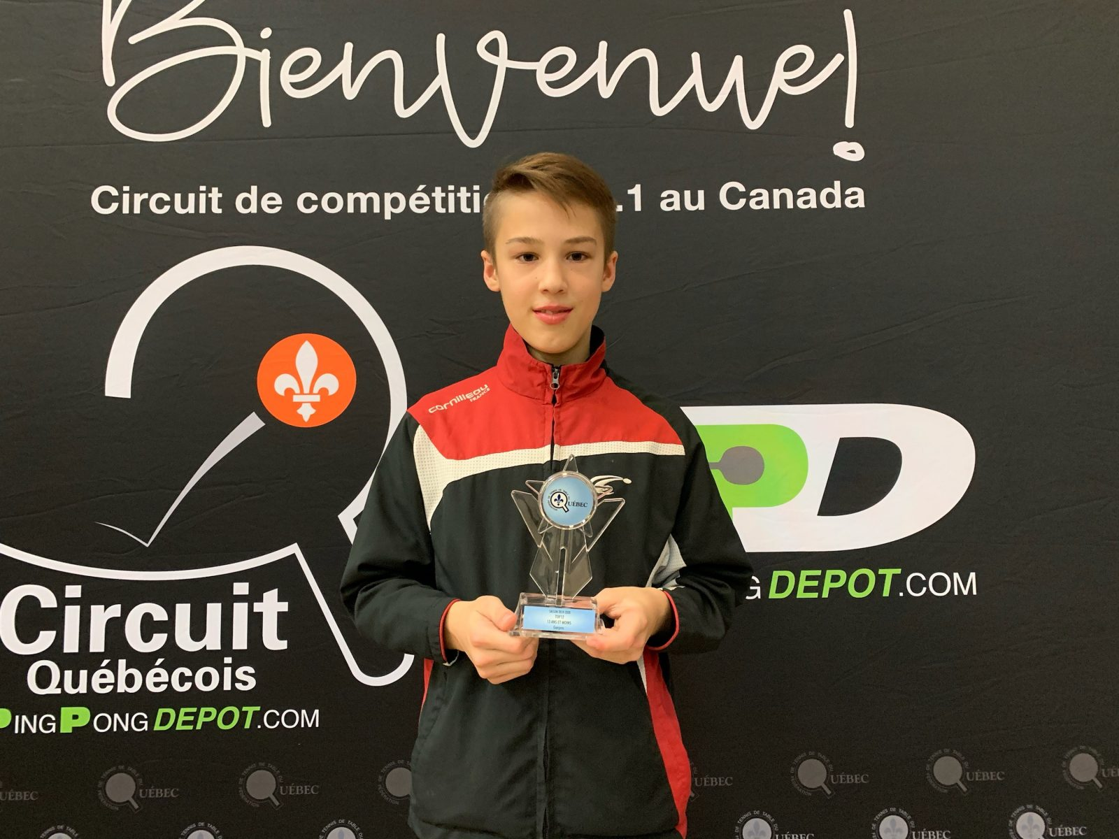 Une médaille d'or pour Andy Bourgeois