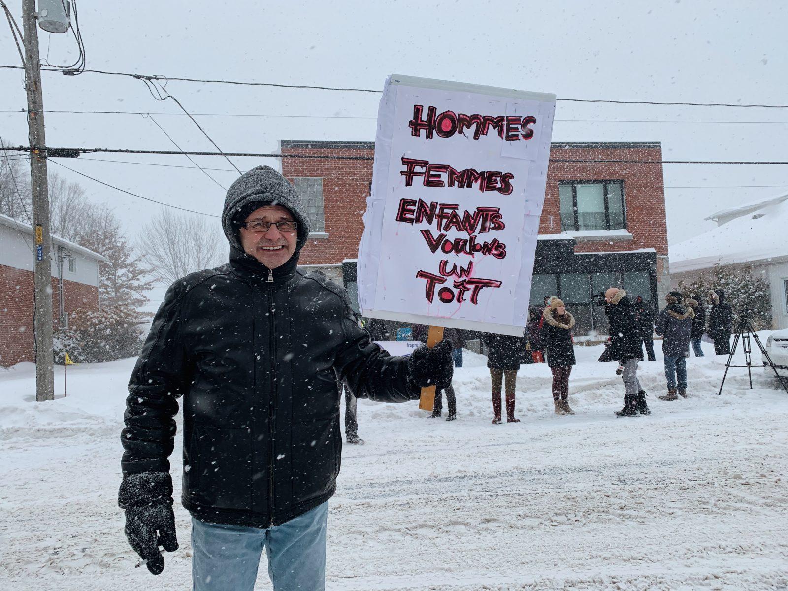 «On veut des logements sociaux pour se loger comme il faut!»
