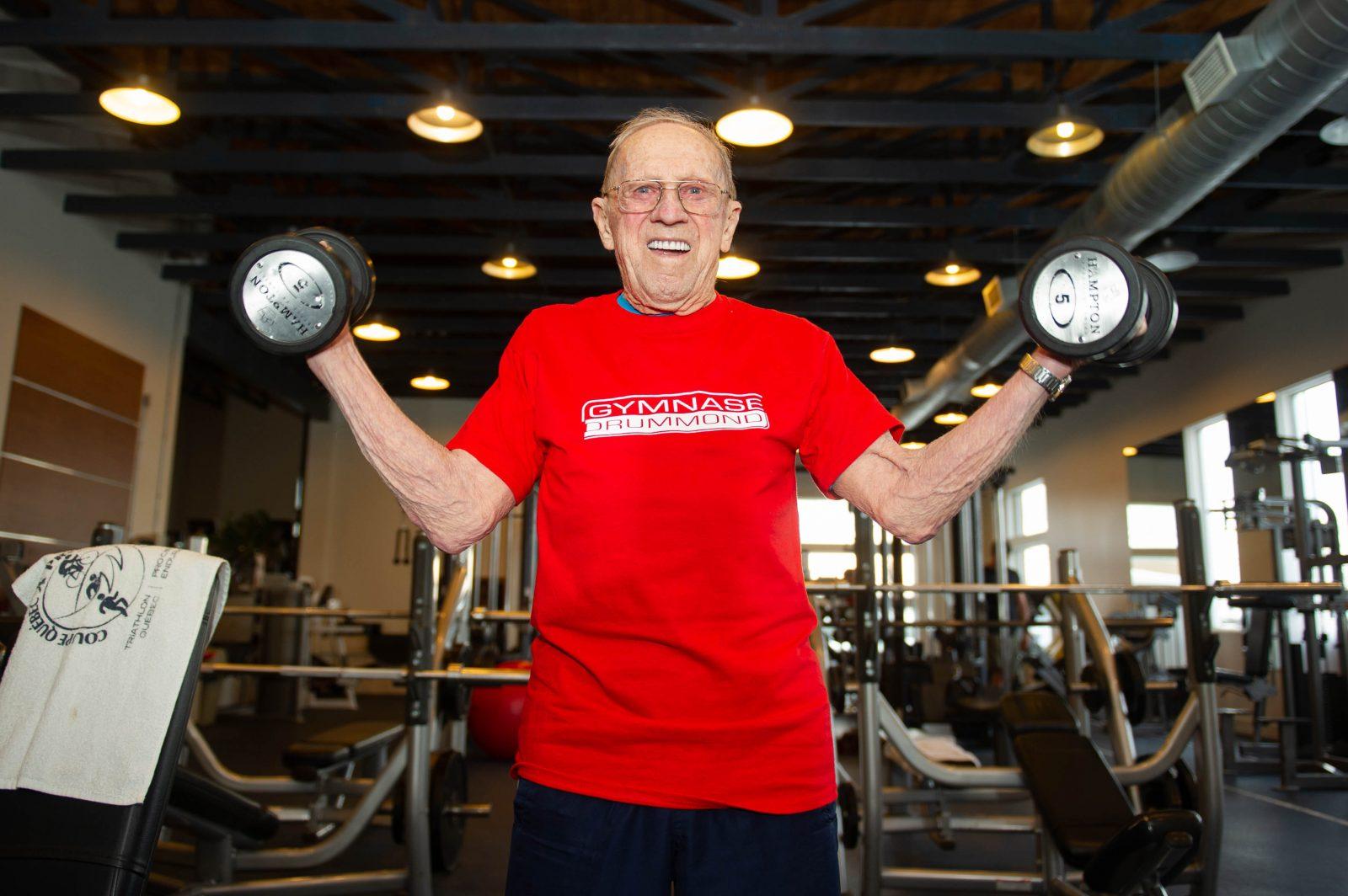 À 93 ans, il s'entraîne toujours
