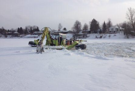 Les travaux de l'excavatrice flottante débuteront le 28 février