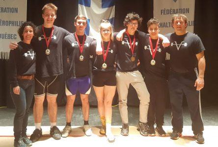 Médaillés d'or au championnat juvénile (vidéos)