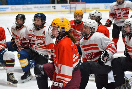 Hockey féminin: les Voltigeurs prennent forme