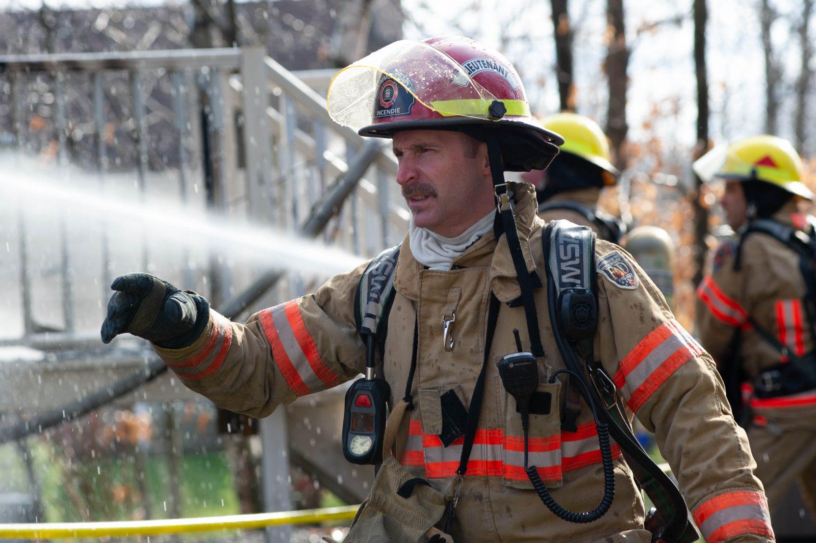 Accident mortel : la victime est un pompier de Drummondville