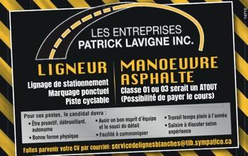 Logo de Ligneur / Manoeuvre asphalte
