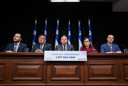 COVID-19 : un premier décès au Québec