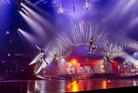 Les artistes drummondvillois du Cirque du Soleil rentrent au bercail