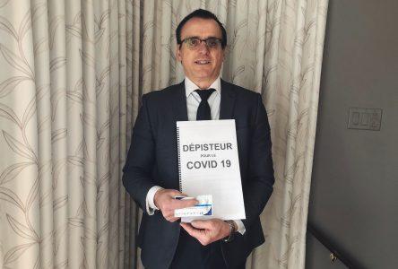 Un Drummondvillois croit avoir une solution pour dépister la COVID-19
