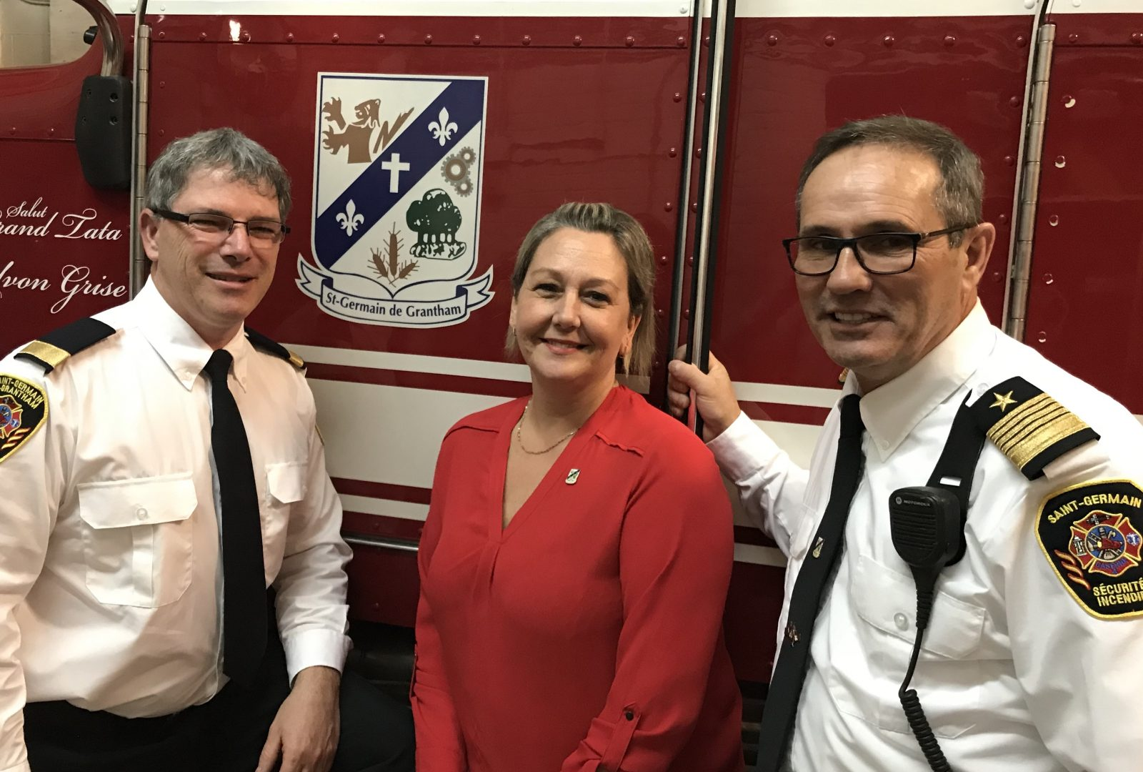 Nouvelle direction au service de sécurité incendie de Saint-Germain
