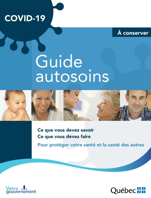 COVID-19 : un guide d'autosoins disponible
