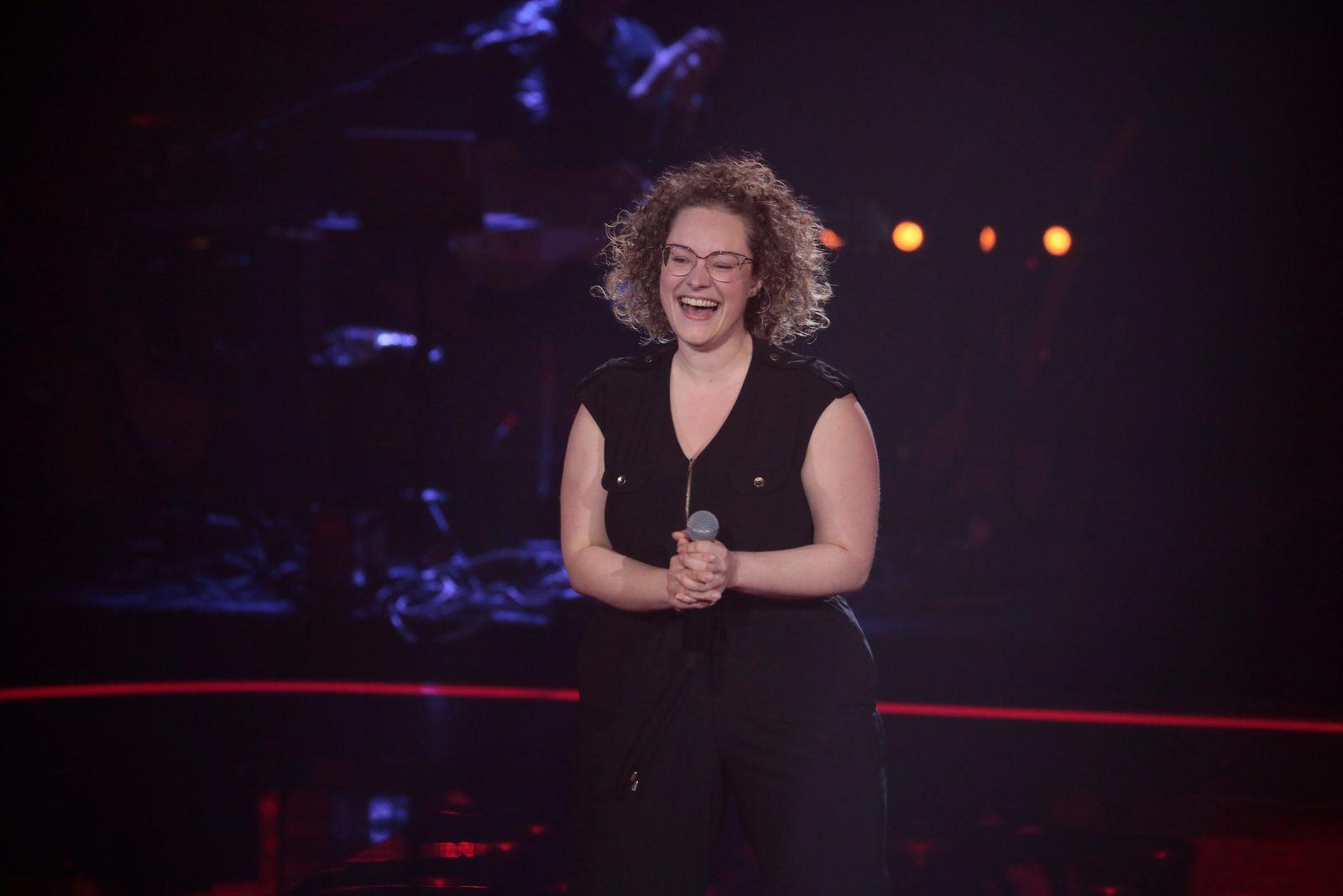 Heidi Jutras séduit trois juges de La Voix