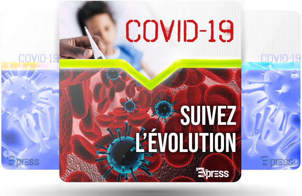 Cinq nouveaux cas de COVID-19 au Centre-du-Québec