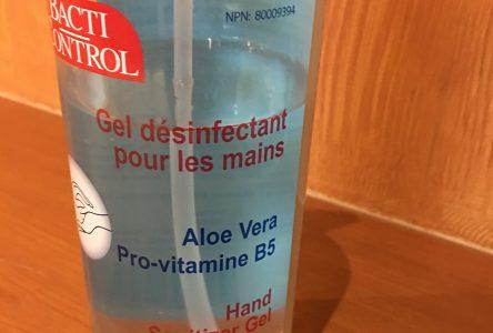 Un fabricant de gel antibactérien à Drummondville recherche des employés