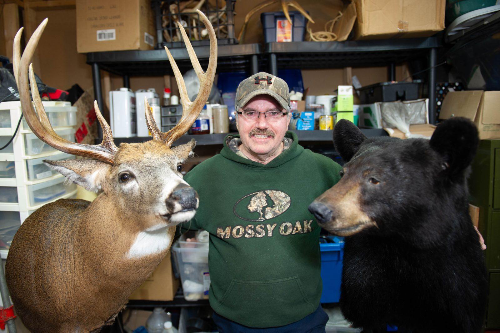 Richard Thibault redonne vie aux animaux sauvages