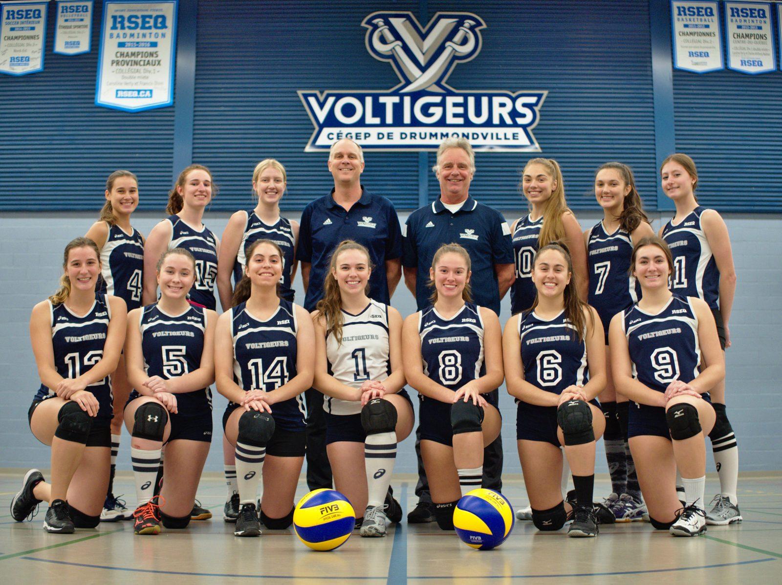 Volleyball : les Voltigeurs étaient comme une famille
