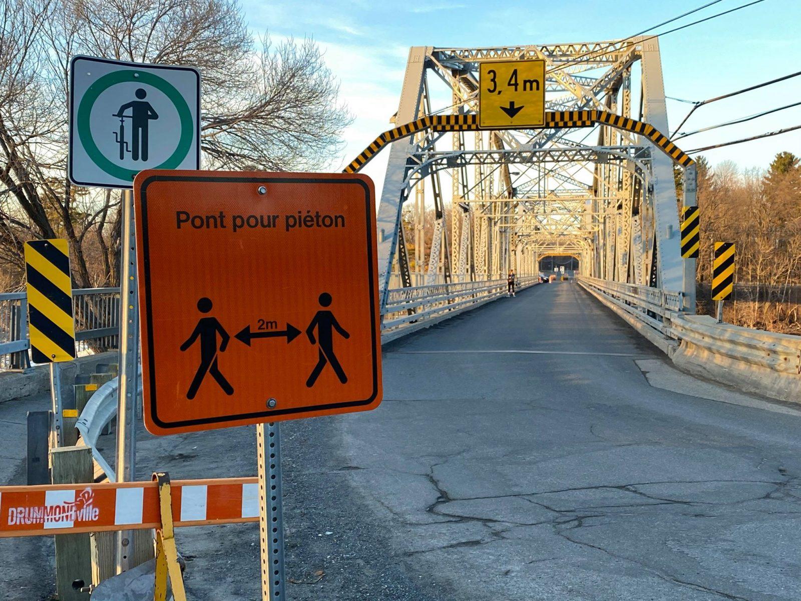 Le pont Curé-Marchand exclusif aux piétons