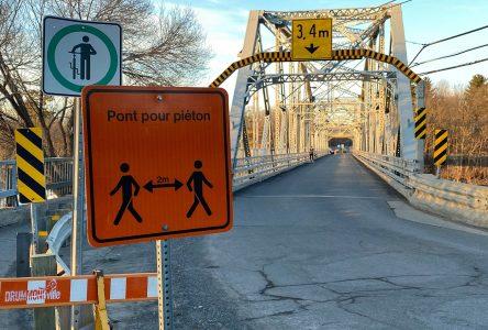 Le pont Curé-Marchand demeure fermé aux automobilistes