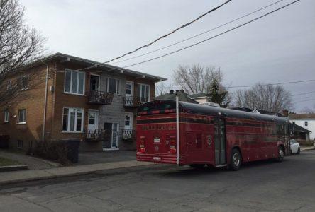 Incendie sur l'avenue Plamondon : d'origine accidentelle