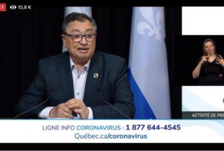 COVID-19: une transmission communautaire dans l'ensemble du Québec