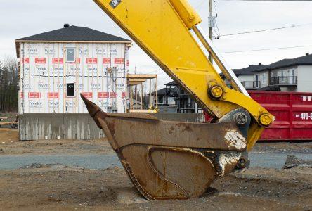 Forte baisse des permis de construction émis à Drummondville