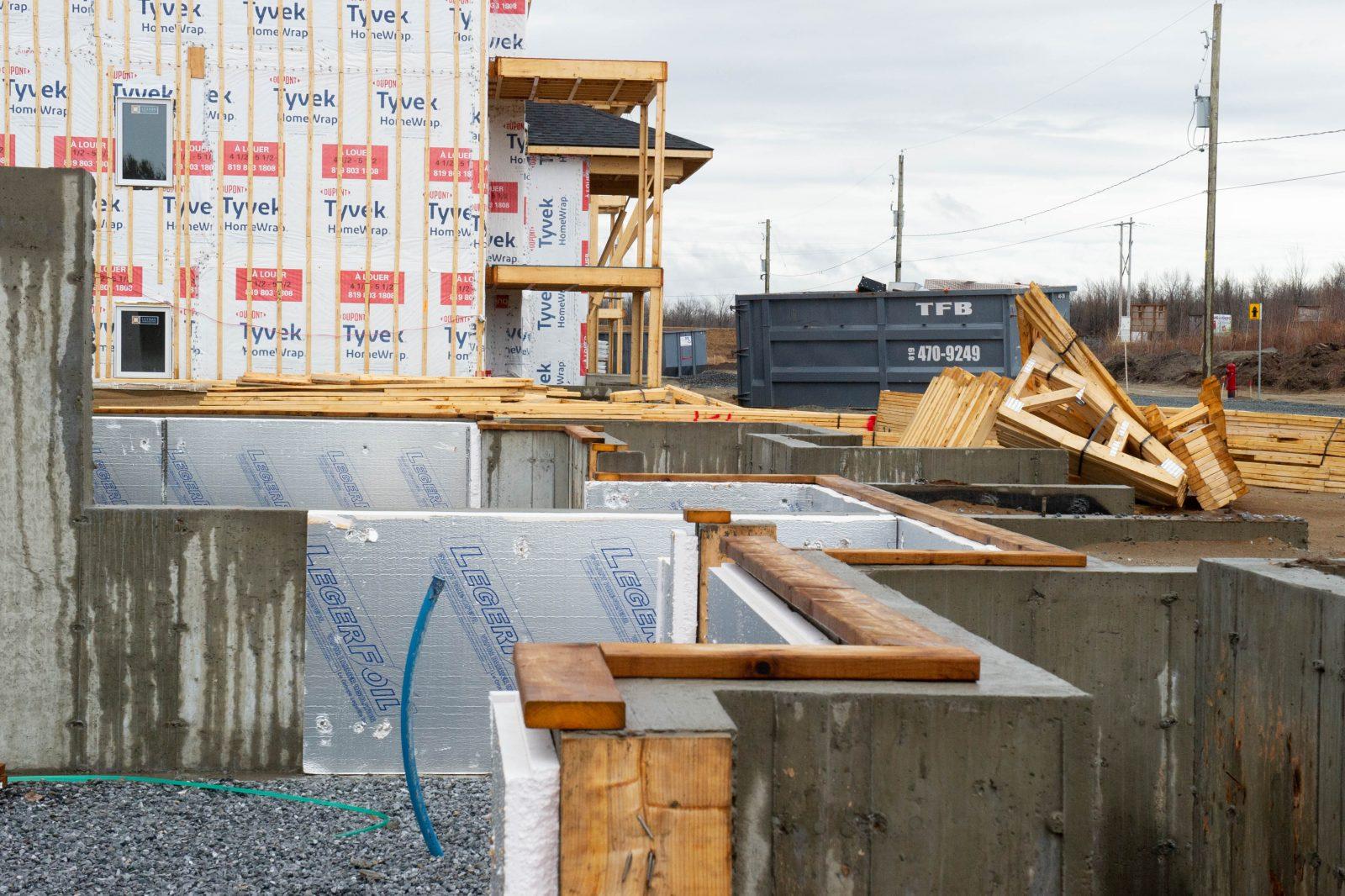 Des logements en chantier ne seront pas prêts pour le 1er juillet