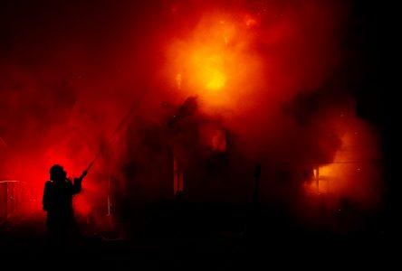 Sept locataires évacués lors d'un incendie