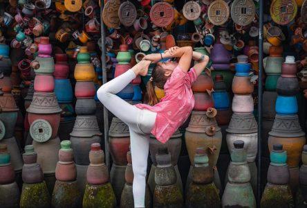 Une Drummondvilloise «zen» en Inde
