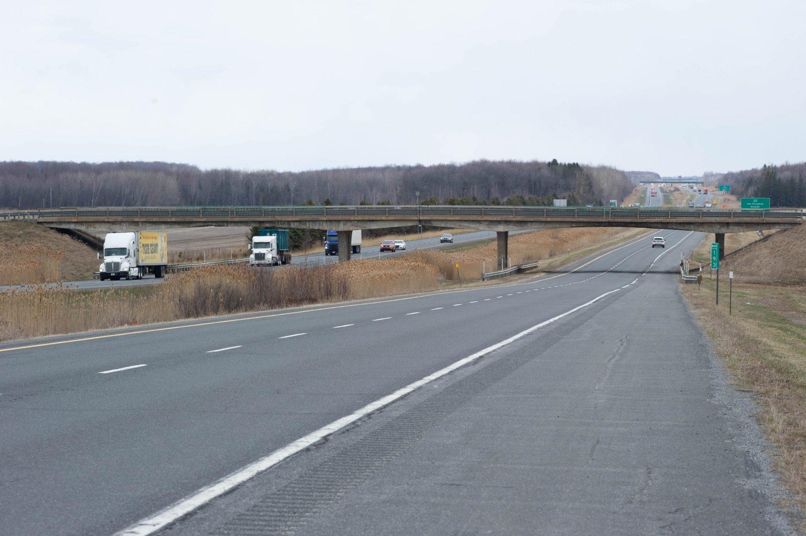 Un Bonconseillois inquiet quant à l'état d'un viaduc sur l'autoroute 20