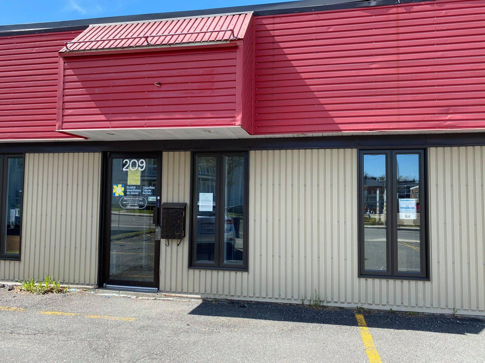 Le bureau de la Société canadienne du cancer pourrait fermer à Drummondville