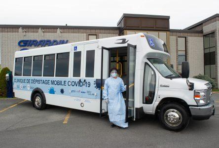 Drummondville aura sa clinique de dépistage mobile