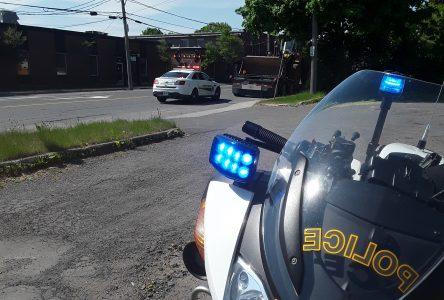La SQ remet 30 constats d'infraction durant une opération de sécurité routière
