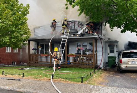 Une résidence à Saint-Charles incendiée
