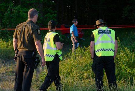 Deux personnes recherchées à la suite d'un accident mortel