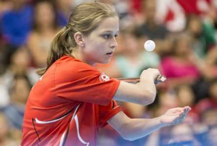 Tennis de table: Alicia Côté tire sa révérence