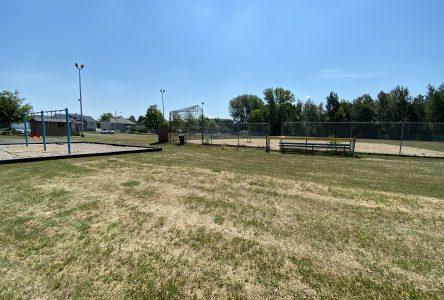 Vers la fin du parc Roland-Tessier