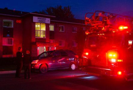 Incendie suspect sur la rue Toupin : l'enquête est abandonnée