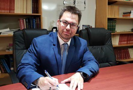 Un nouveau Bâtonnier pour le Barreau d'Arthabaska