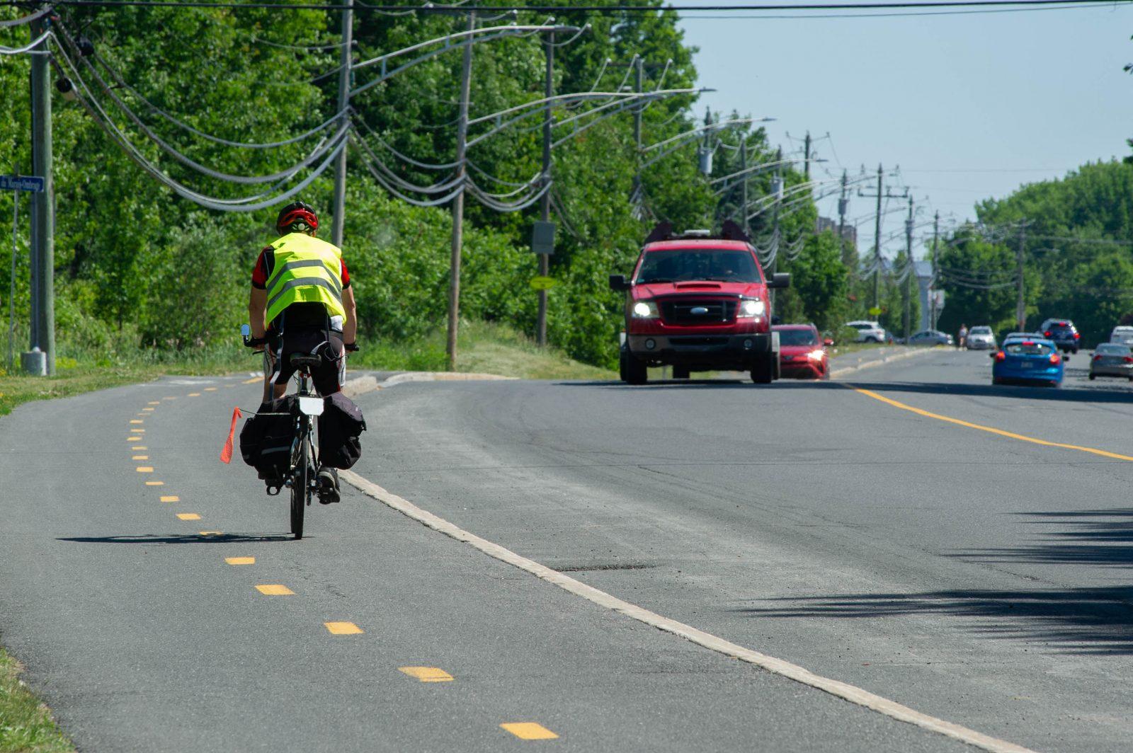 Drummondville certifiée Vélosympathique «argent»