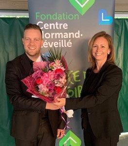 Changement de présidence à la Fondation du Centre Normand-Léveillé