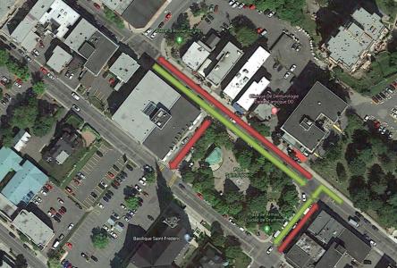 Terrasses publiques : des rues seront partiellement piétonnes