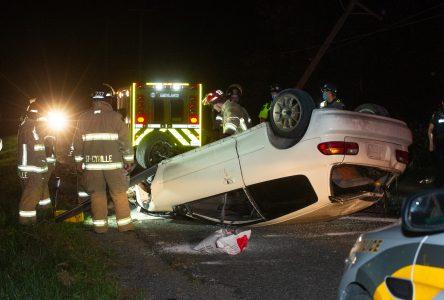 Accident à Saint-Lucien : le conducteur est recherché