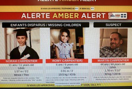 Alerte Amber levée : deux personnes inanimées ont été retrouvées