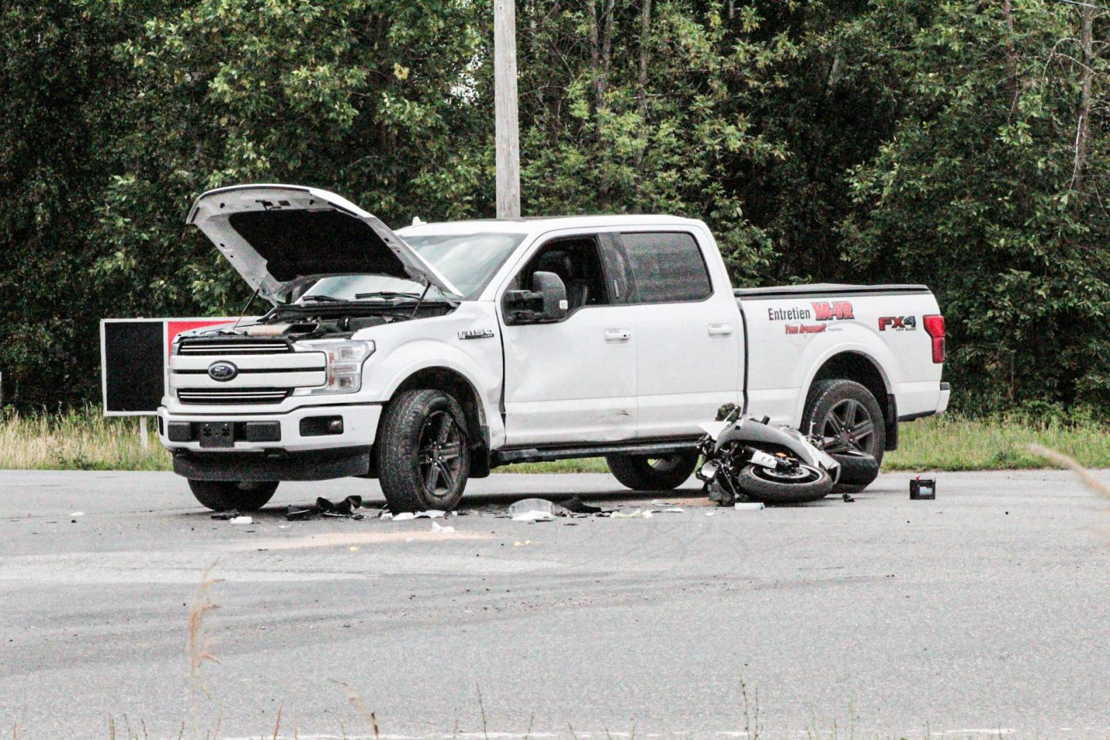 Une douzaine d'accidents de moto de plus qu'en 2019